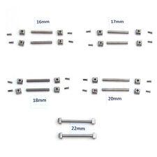 WATCH parte per Cartier Pasha VITI TUBI Cinturino BRACCIALE BAND 16mm-22mm Capocorda P60