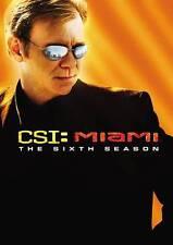 CSI: Miami - The Sixth Season (DVD, 2008, Multi-disc set)
