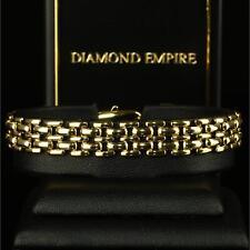 Luxus Damen Armband Königskette Echt 750er Gold 18K vergoldet UVP: 79€  B1429