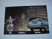 advertising Pubblicità 1995 VOLVO 850 T5