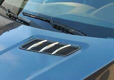 Mercedes W166 ML X166 GL Chrome Bonnet Hood fins