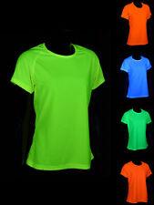 """Schwarzlicht T-Shirt Sport Damen Herren Kinder """"Blacklight"""" Neon Junge Mädchen"""