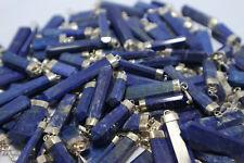 Lapis Lazuli -- Spitzen Anhänger-- mit Silber -- Edelstein aus Afghanistan TOP
