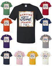 Genuine Ford Parts Licensed T-Shirt Retro American Classic Built Tough Tee Shirt