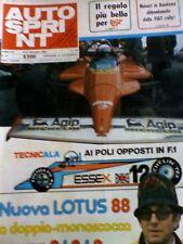 Autosprint 51 1980 Nuova Lotus 88 Will Balestre
