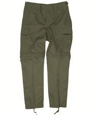 Zip-Off Pantalón oliva, Pantalones de campo, Informal, Outdoor -nuevo