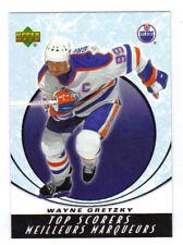 05-06 UD Upper Deck McDonalds Wayne Gretzky Top Scorers Insert Card #TS1 Mint