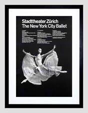 Ad cultural new york ballet zurich suisse dance encadré art imprimé B12X4369