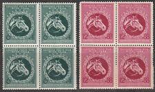 Stamp Germany Mi 900-1 Sc B284-5 Block 1944 WWII War Vienna Grand Prix Horse MNH