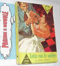 janson - LOTTA CON LE OMBRE  1959  gialli del TRIANGOLO