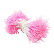 300X künstliche Blume Staubblätter Doppelknospen DIY Haarschmuck