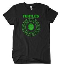 TURTLES NASTRO T-SHIRT FUN culto Splinter Shredder Teenage MUTANTE NINJA TMNT COMIC
