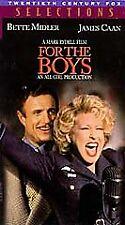 For the Boys (VHS, 1992) HI-FI Stereo Sound Bette Midler & James Caan Stars VG