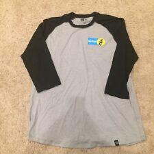 Bilstein Shock Absorbers NEW ERA T-Shirt 3/4 Raglan Size M - XL Grey Black