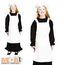 Victorian Girls Fancy Dress Book School Costume 4-12 Y