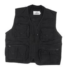 Men Mesh Vest Multi-pocket Fishing Photographer Vest Outdoor Causal Jacket