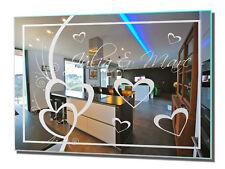 Motivspiegel Liebe 14 Wandspiegel Modern Art Dekoration Edel Luxusspiegel Love