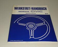 Werkstatthandbuch Honda Civic Stand 10/1986