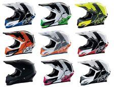 Z1R Adult Men / Women Motorcycle ATV MX Rise Helmet XS-2XL