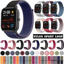 ✅ Für AMAZFIT Smartwatch Bip Lite GTS / GTR Armband 20mm 22mm Gewebt Nylon ✅