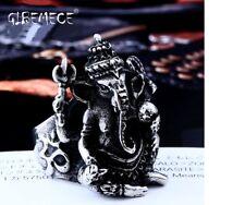 16L Stainless Steel ring Men Thailand Buddha elephant Thai Pikanet GANESHA