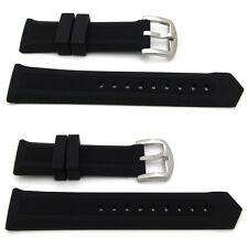 NUOVO per Tag Heuer F1 Silicone Rubber Watch Strap 22mm & 24mm Capocorda BAND wriststrap