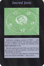 ILLUMINATI:New World Order-Steve Jackson-Lot 616-1 Card