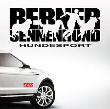 Auto Aufkleber BERNER SENNENHUND HUNDESPORT Hund Hunde SIVIWONDER
