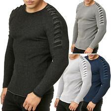 Redbridge Pullover Tricoté pour Homme Pull Sweatshirt Coupe Ajustée Clubwear