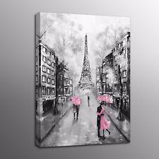 Modern Canvas Print Wall Art Eiffel Tower Landscape Painting Picture Canvas Art