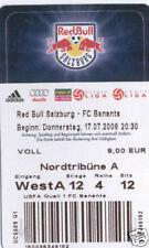 OLD TICKET EC Red Bull Salzburg Austria Banants Armenia