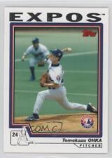 2004 Topps #262 Tomokazu Ohka Montreal Expos Baseball Card