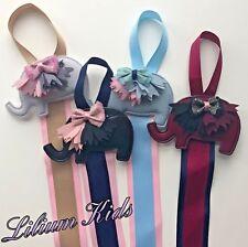 Hair Bow Holders/Ribbons - Elephant Design