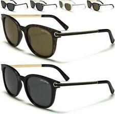 Nuevo Negro Gafas de sol polarizadas para hombre señoras para mujer de estilo vintage y retro ojo de gato UV400