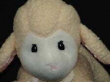 PRECIOUS MOMENTS WHITE EASTER LAMB OF GOD PLUSH STUFFED ANIMAL SHEEP BABY RATTLE