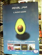CARTONATO PUBBLICITARIO PROMO ADVERT PEARL JAM 2006 CM.68x98