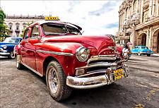 Stickers muraux autocollant déco : Voiture Cuba - réf 1427 (16 dimensions)