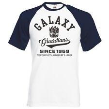 """Guardianes de la Galaxia"""" Nuevo Uni Logo"""" raglán camiseta de béisbol"""