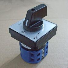 La red eléctrica interruptor selector de 16amp, 2 Polos 2 Way pss016
