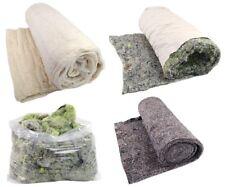 Lana de algodón tapicería Fieltro rebaño guata de todos los tipos en capas confeccionado con aguja Fieltro De Algodón