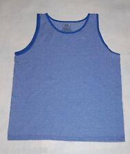 Boys Tank Top  BLUE STRIPE  Fruit of the Loom M 8 L 10-12 XL 14-16 XXL 18 SUMMER