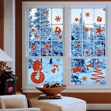Wandtattoo Weihnachten Schneemann Winter Schneeflocken Set  Wand Tattoo #2058