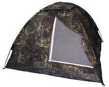 MFH Tenda militare da campeggio escursioni Tent Monodom 32103V Flecktarn