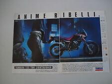 advertising Pubblicità 1990 MOTO YAMAHA 125 TDR LIGHTBURNER