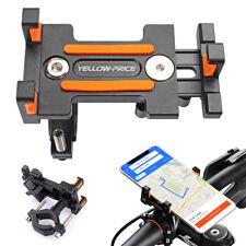 "Bike Motorcycle Aluminum 4-7"" Phone Handlebar Mount Holder/UV Sleeves/Bike Glove"