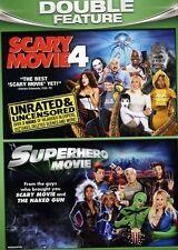 Scary Movie 4 (DVD, 2011, Unrated/Superhero Movie) NEW