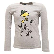 6481R maglia bimba FAY JUNIOR maglie grigio manica lunga t-shirt long sleeve kid