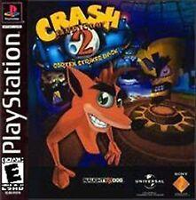 Crash Bandicoot 2 Cortex Strikes Back - PS1 playstation 1 Game Only
