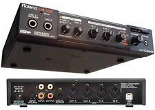ROLAND EDIROL UA-100 USB & MIDI AUDIO CANVAS INTERFACE CAPTURE 24 BIT 25 25EX 55