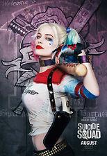 Cartel De Cine escuadrón de suicidio-Harley Quinn (1) - Diferentes Tamaños-Gratis UK FRANQUEO